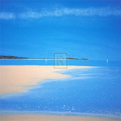 Sandy Bay IV-Richard Pearce-Art Print