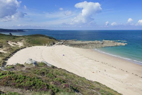 Sandy Beach at Cap Frehel, Cotes D'Armor, Brittany, France, Europe-Markus Lange-Photographic Print