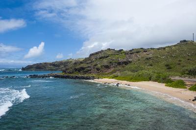 Sandy Beach, Island of Molokai, Hawaii, United States of America, Pacific-Michael Runkel-Photographic Print