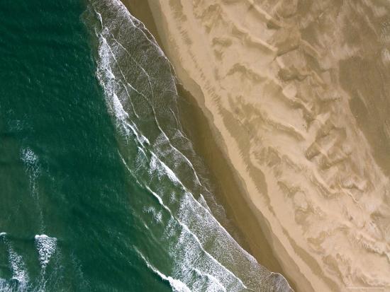 Sandy Beaches at Cap Draa, Morocco-Michael Fay-Photographic Print