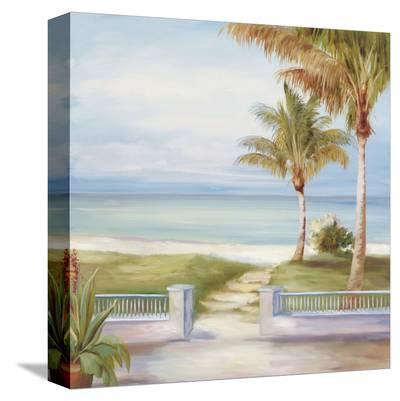 Sandy Footpath-Marc Lucien-Stretched Canvas Print