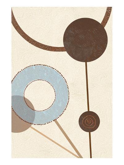 Sandy Improvisation No. 1-George Wassily-Art Print