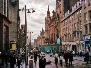 Travel Trip Glasgow Shopping by Sandy Kozel