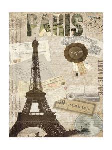 Postcards of Paris XIV by Sandy Lloyd