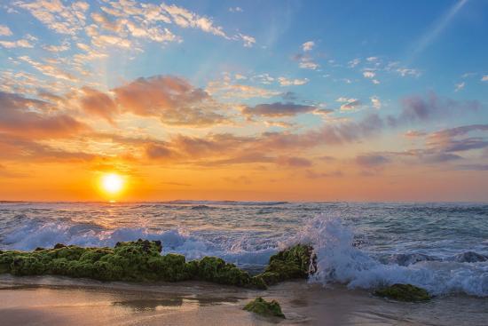 Sandy's Sunrise-Island Leigh-Photographic Print