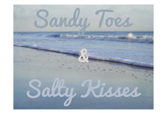 Sandy Toes 2-Elizabeth Urquhart-Art Print