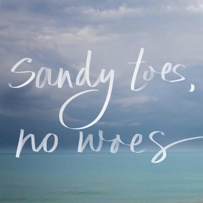 Sandy Toes-Susan Bryant-Art Print