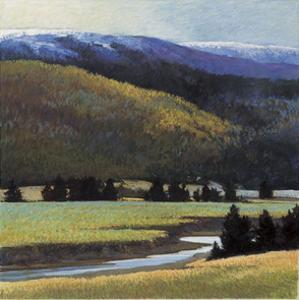 Foothills in Late Spring by Sandy Wadlington