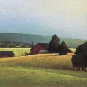 Summer Morning in the Valley by Sandy Wadlington
