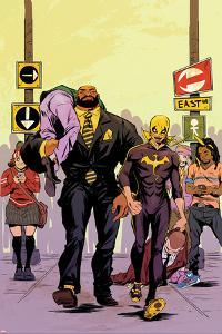 Power Man and Iron Fist No. 2 Cover Featuring Power Man, Iron Fist by Sanford Greene