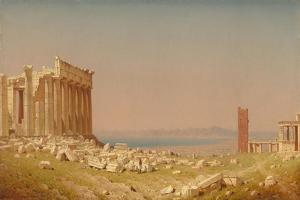 Ruins of the Parthenon, 1880 by Sanford Robinson Gifford
