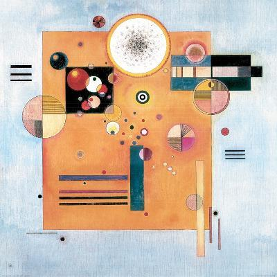 Sanfter Nachdruck-Wassily Kandinsky-Giclee Print