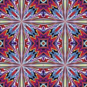 Fabric Design From Latin America by Sangoiri