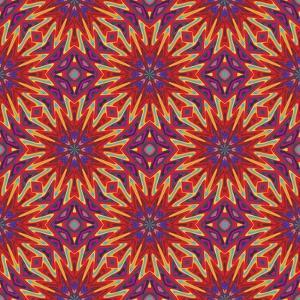 Modern Indian Pattern by Sangoiri
