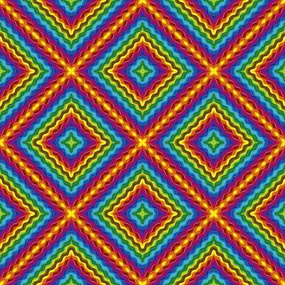 Pop Art Disco Pattern