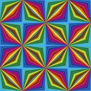 Pop Art Disco Pattern by Sangoiri
