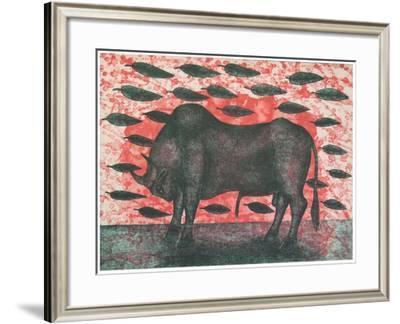 Sangre De Toro, 2001-Juan Alcazar-Framed Giclee Print