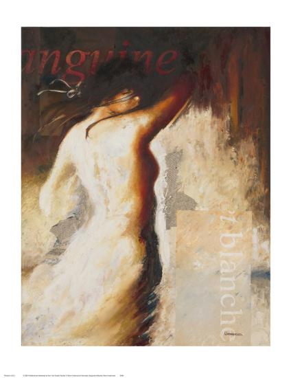 Sanguine et Blanche-Steve Underwood-Art Print
