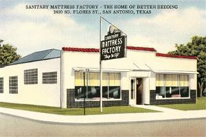 Sanitary Mattress Factory, San Antonio