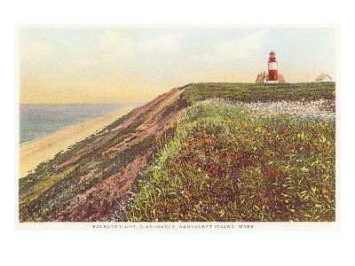Sankaty Lighthouse, Siasconset, Nantucket, Massachusetts--Art Print