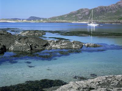 Sanna Beach from Portuairk, Ardnamurchan, Highland Region, Scotland, United Kingdom-Kathy Collins-Photographic Print