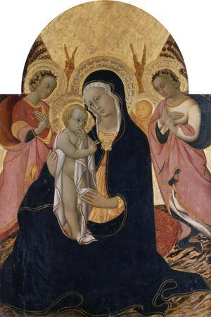 Madonna and Child with Two Angels, C.1440