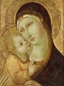 Madonna and Child by Sano di Pietro