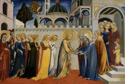 Mary's Homecoming from the Temple, C.1448-51