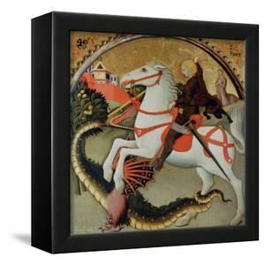 Saint George and the Dragon by Sano di Pietro