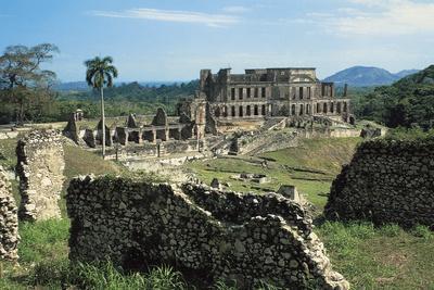 Sans-Souci Palace, 1810-1813, Milot (Unesco World Heritage List, 1982), Nord Department, Haiti--Photographic Print