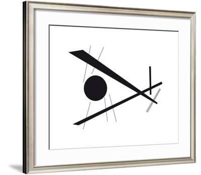 Sans titre, 1924-Wassily Kandinsky-Framed Premium Giclee Print