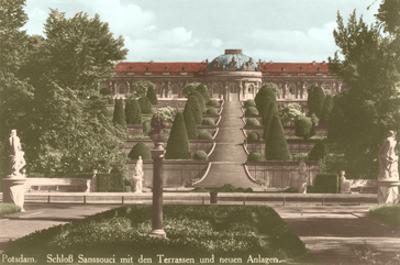 Sanssouci Castle, Potsdam, Germany