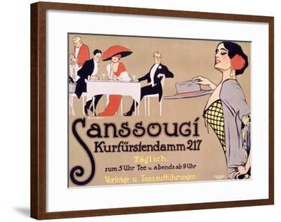 Sanssouci-Fritz Rumpf-Framed Giclee Print