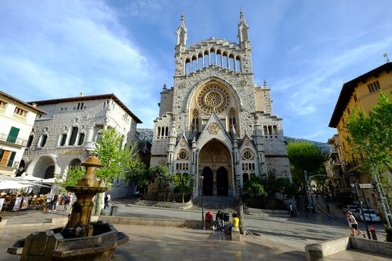 Sant Bartomeu Church, Soller, Majorca, Balearic Islands, Spain, Europe-Carlo Morucchio-Photographic Print