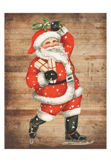Santa Baby-Sheldon Lewis-Art Print