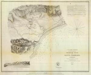 Santa Barbara, California, c.1853
