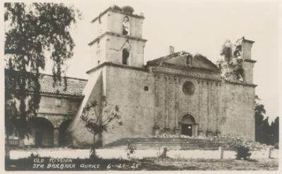 Santa Barbara Mission, California