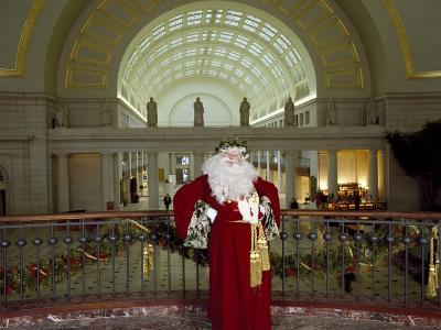 Santa Claus at the Library-Carol Highsmith-Art Print