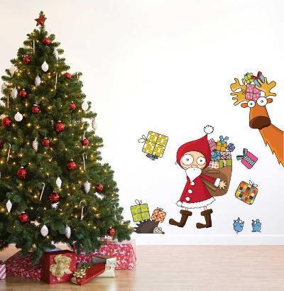 Santa Claus--Wall Decal