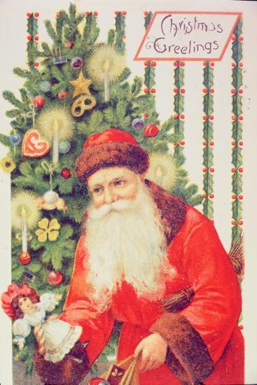Santa Claus--Giclee Print