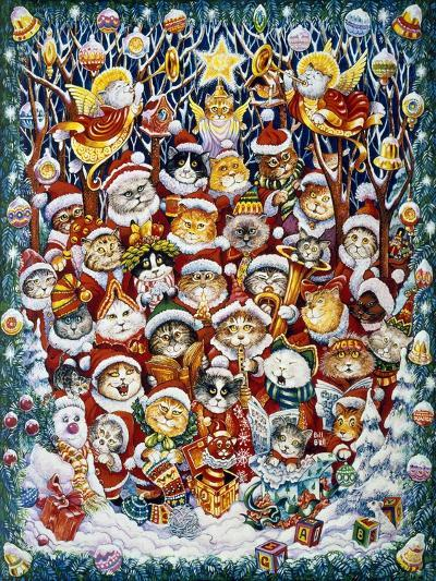Santa Claws-Bill Bell-Giclee Print