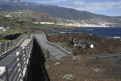 Santa Cruz De La Palma from Los Cancajos, La Palma, Canary Islands, Spain, 2009-Peter Thompson-Photographic Print
