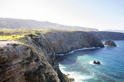Santa Cruz Island, Channel Islands NP, CA: Hiking Cavern Point Trail, Coastal Views Pacific Ocean-Ian Shive-Photographic Print