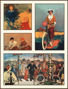 Cycling by Santa