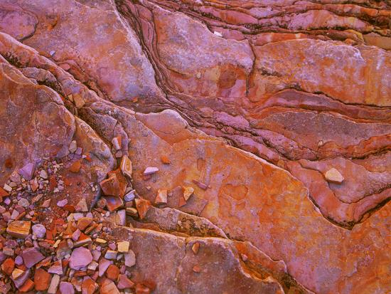 Santa Elena Canyon Abstract, Big Bend National Park-Mallorie Ostrowitz-Photographic Print