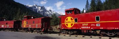 Santa Fe Railroad, Shasta-Trinity National Forest, California, USA--Photographic Print
