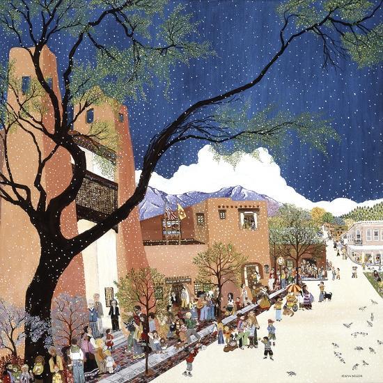 Santa Fe Smiling-Kristin Nelson-Premium Giclee Print