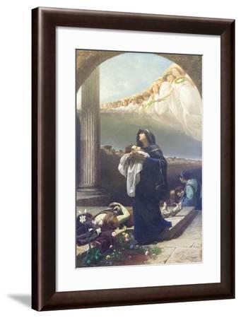 Santa Grata Raccoglie Le Spoglie Di Santo Alessandro--Framed Giclee Print