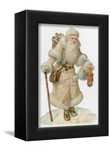 Santa in White