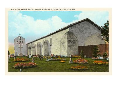 Santa Inez Mission, California--Art Print